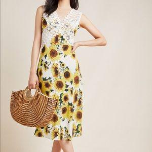 NWT Tracy Reese Francois Midi Silk Dress (8)